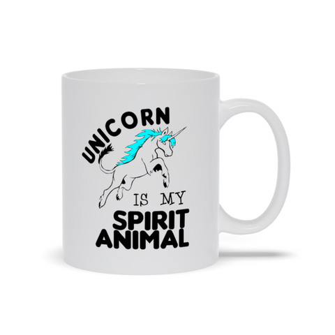 Image of Unicorn is My Spirit Animal Mugs
