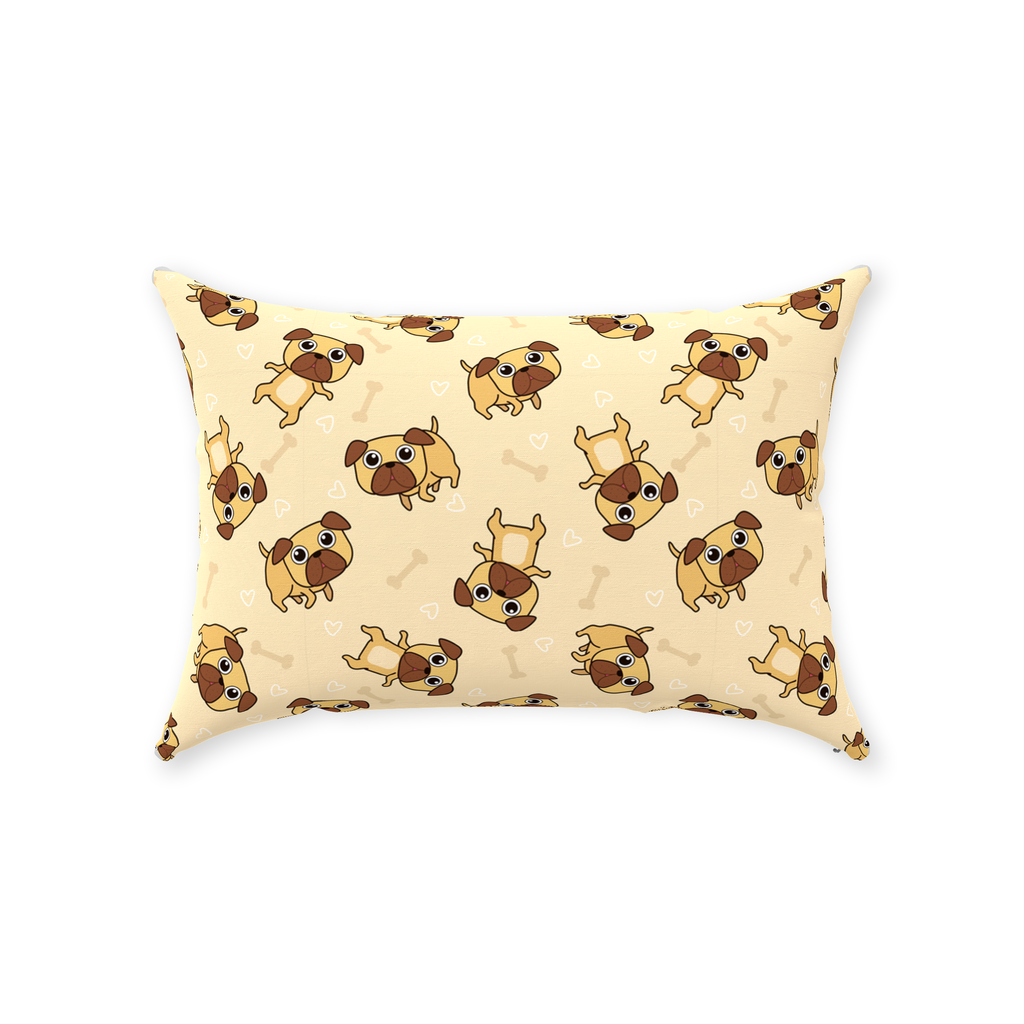 Throw Pillows with Cute Puppies