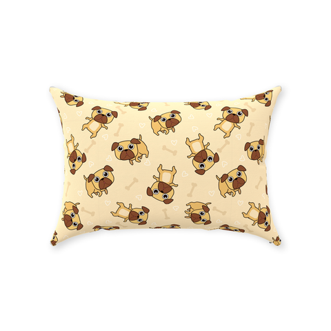 Image of Throw Pillows with Cute Puppies