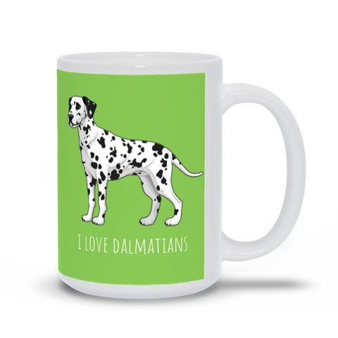 Image of I love Dalmatians Mug