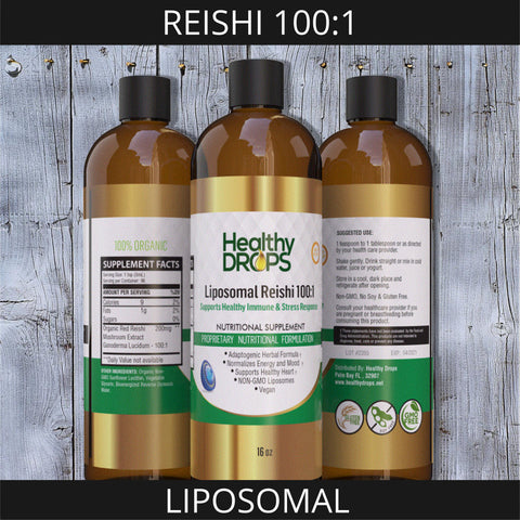 Image of LIPOSOMAL REISHI 100:1 | BIOENERGIZED FOR INCREASED ABSORPTION