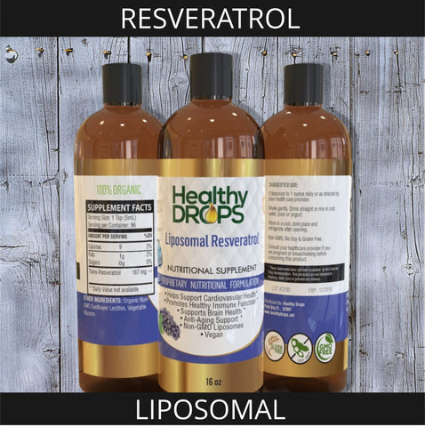 LIPOSOMAL RESVERATROL | HEALTHY BLOOD LIPID SUPPORT