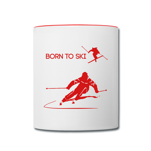 Born to Ski Coffee Mug - Give your favorite brew a stylish setting