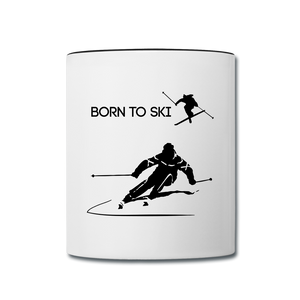 Born to Ski Cofee Mug - Give your favorite brew a stylish setting