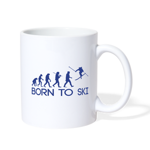 Born to Ski - Coffee and Tea Mug