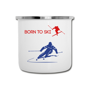 Born to Ski Retro Mug - Great Gift for Ski Lovers