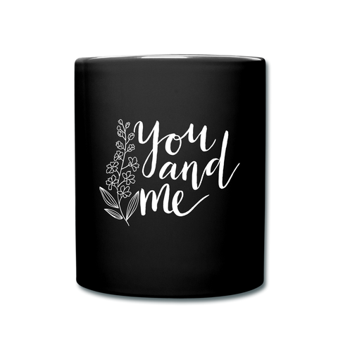 Image of I love you to the moon and back Full Color Mug - black
