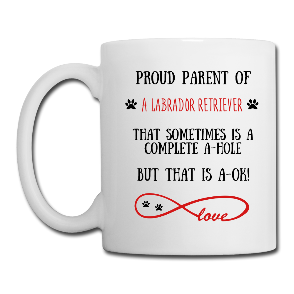 Labrador Retriever gift, Labrador Retriever mug, Labrador Retriever cup, funny Labrador Retriever gift, Labrador Retriever thank you, Labrador Retriever appreciation, Labrador Retriever gift idea - white