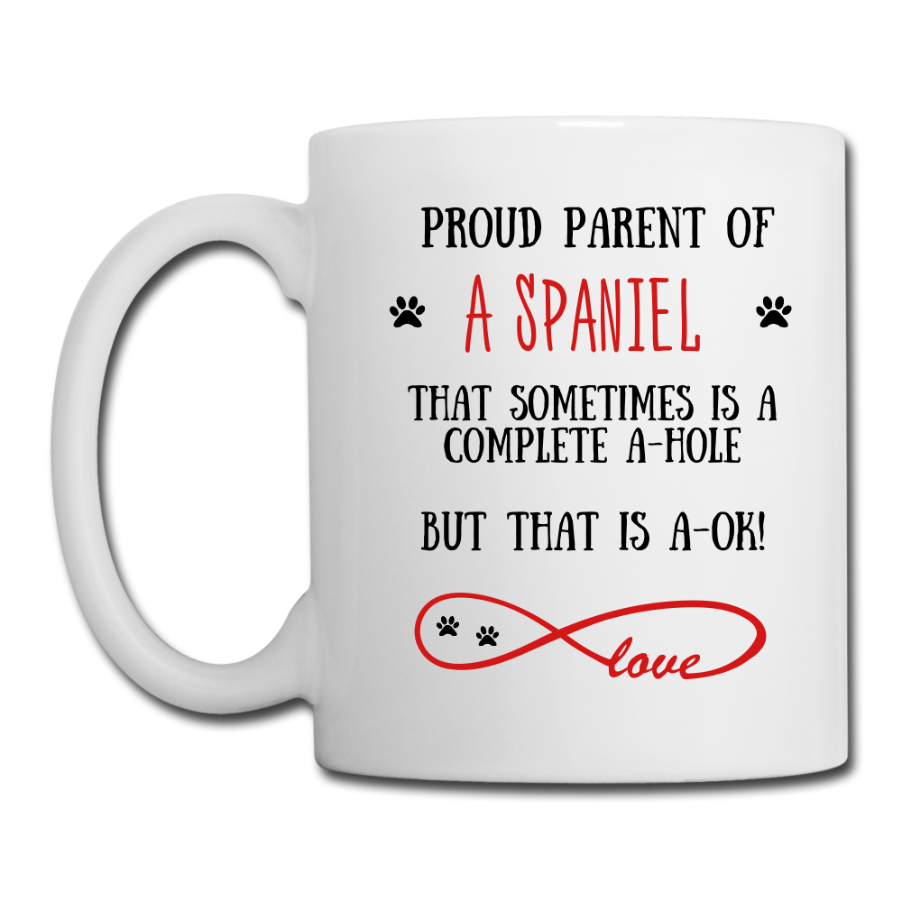 Spaniel gift, Spaniel Dog mom, Spaniel Dogr mug, Spaniel Dog gift for women, Spaniel Dog mom mug, Spaniel Dog mommy, Spaniel Dog - white
