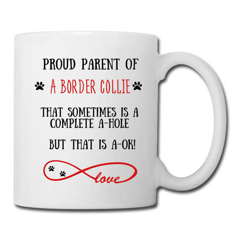 Image of Border Collie gift, Border Collie Dog mom, Border Collie Dog mug, Border Collie Dog gift for women, Border Collie Dog mom mug, Border Collie Dog mommy, Border Collie Dog - white