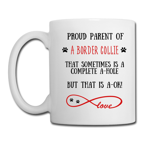 Border Collie gift, Border Collie Dog mom, Border Collie Dog mug, Border Collie Dog gift for women, Border Collie Dog mom mug, Border Collie Dog mommy, Border Collie Dog - white