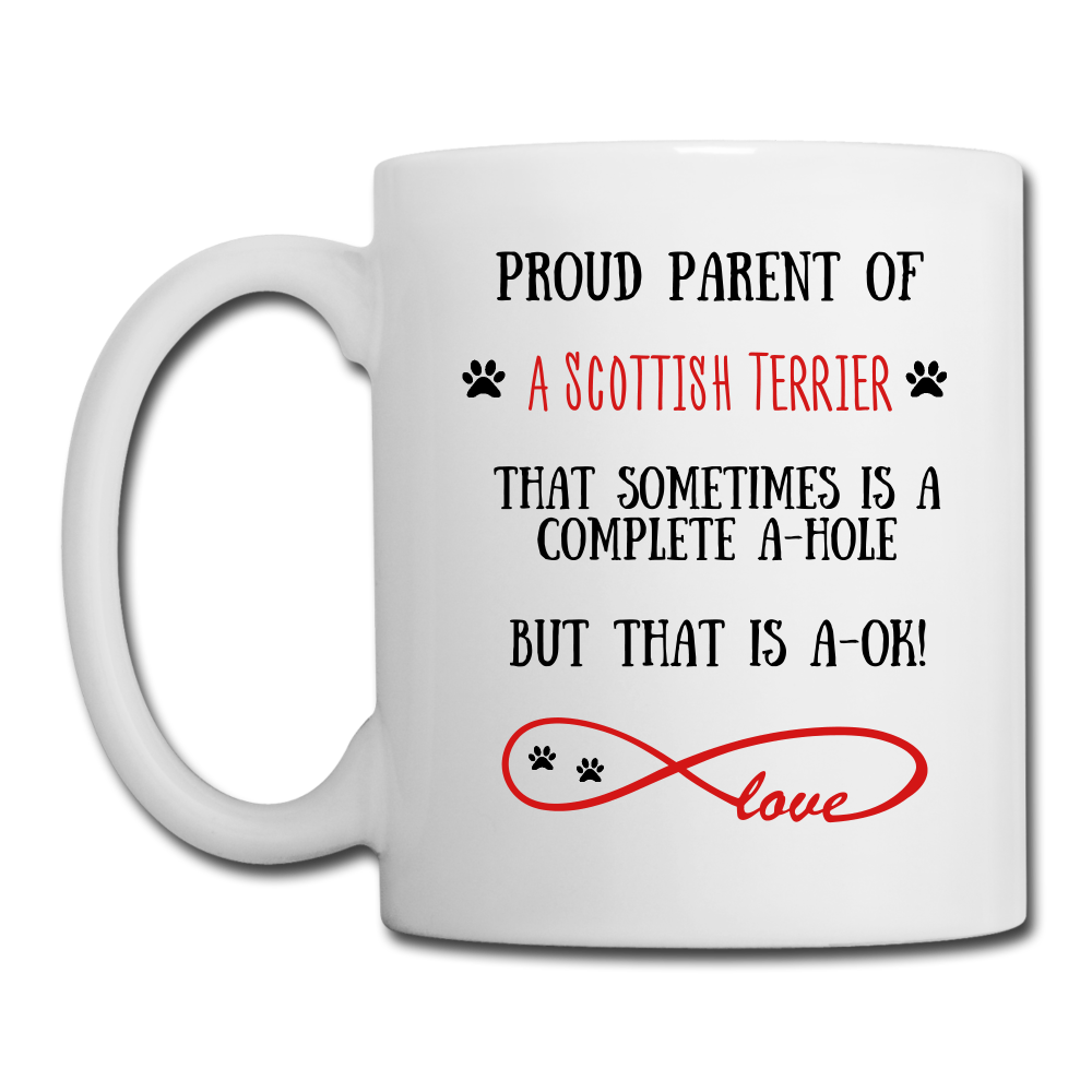 Scottish Terrier gift, Scottish Terrier mom, Scottish Terrier mug, Scottish Terrier gift for women, Scottish Terrier mom mug, Scottish Terrier mommy, Scottish Terrier - white