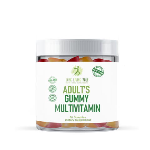 Image of Adult Multi Vitamin Mixed Flavor Gummies