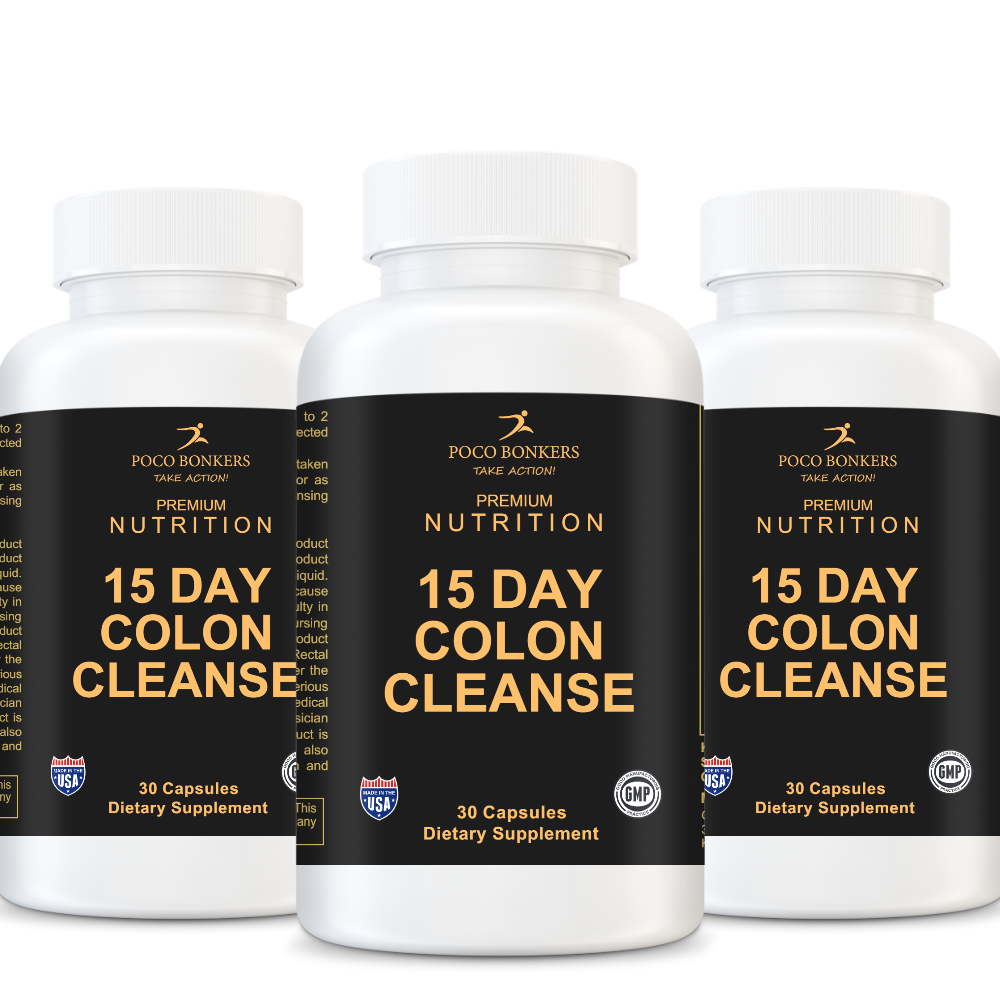 **LOW STOCK** 15 Day Colon Cleanse
