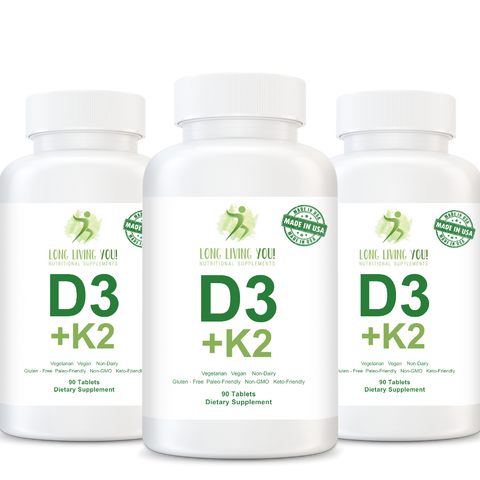 Image of Vitamin D3 with K2