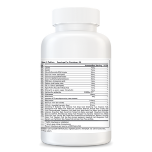 Vegan Vitality - Multi Vitamin and Mineral Supplement for Vegan Adults