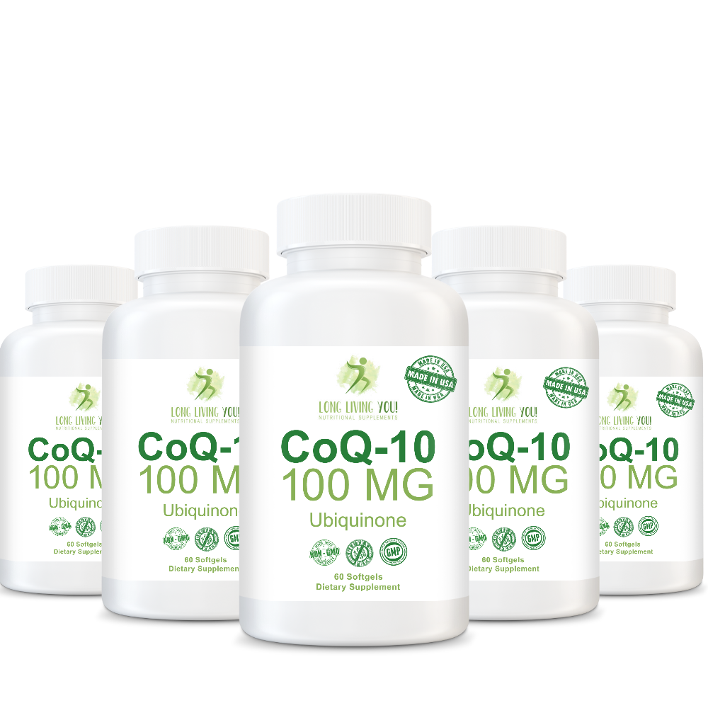 CoQ10 100mg White