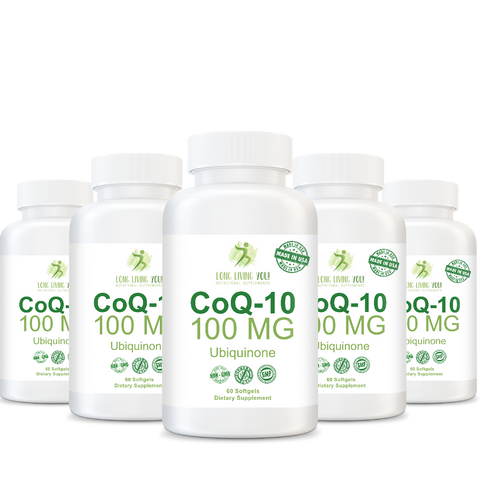 Image of CoQ10 100mg White