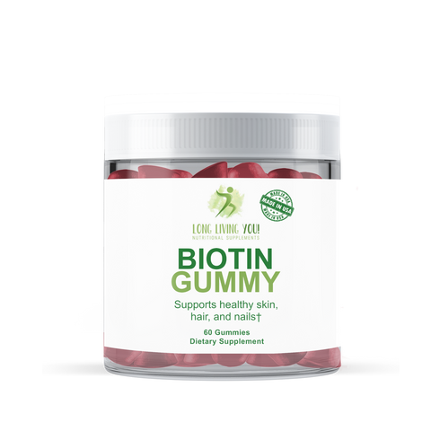 Image of Biotin Gummy 2500 mcg
