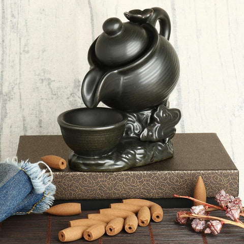 Tea Pot Incense Burner