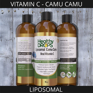 LIPOSOMAL VITAMIN C - CAMU CAMU | NATURAL SOURCE