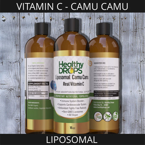 Image of LIPOSOMAL VITAMIN C - CAMU CAMU | NATURAL SOURCE