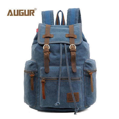 Image of Vintage Canvas Backpack