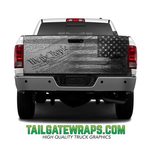 Constitution Rugged Flag Tailgate Wrap