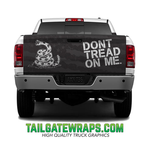 Don't Tread On Me Tailgate Wrap