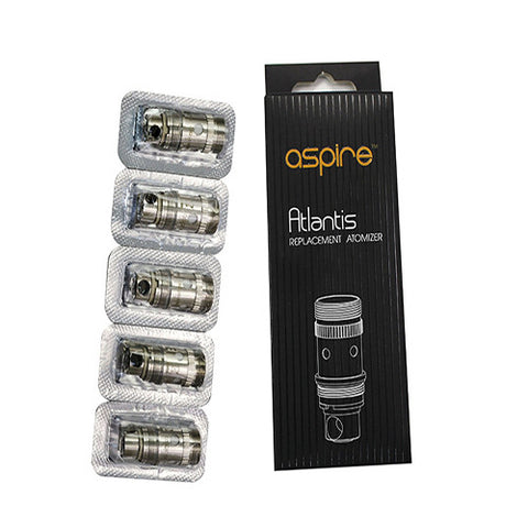 Aspire Atlantis 2.0 & Mega Replacement Coils - Black Market Vapors
