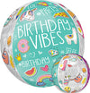 Selfie Celebration- Birthday Vibes Orb