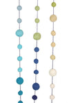 Blue Green Colorblock Garland