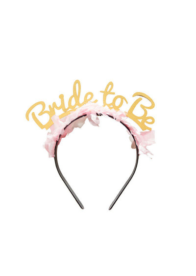 BRIDE TO BE Headband/Crown