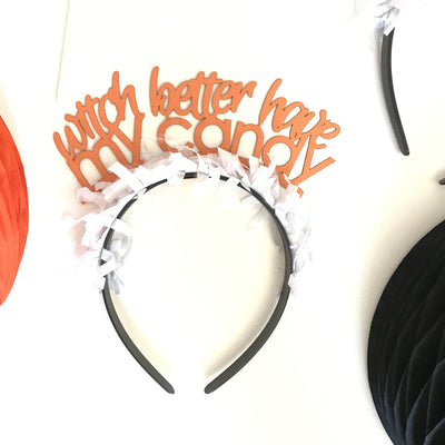 Party Up Top - Halloween Headbands