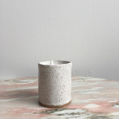 Hand Built Ceramic Candle