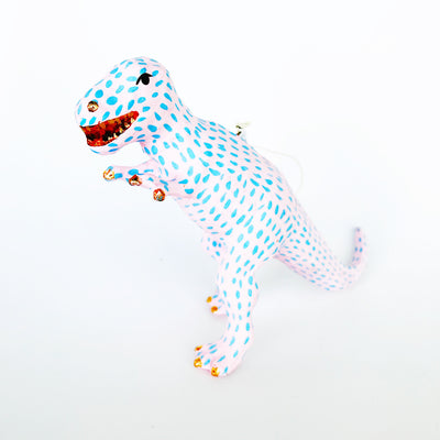 Speckled T-Rex Ornaments