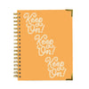 Keep On! Spiral Notebook