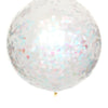 "36"" Jumbo Confetti Balloon - Pearly Shells"