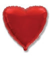 "32"" Mylar Red Heart Balloon"