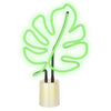 Neon Monstera Light - Small