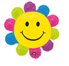"29"" Happy Face Daisy Balloon"