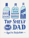 Top Shelf Greeting Card