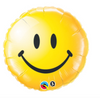 "18"" Smiley Face Yellow Mylar Balloon"