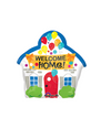 "16"" Welcome Home House Mylar Balloon"