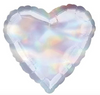 "18"" Iridescent Heart Mylar Balloon"