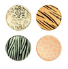Safari Animal Print Side Plates