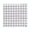 Black and White Grid - Cocktail Napkin
