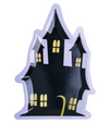 Haunted House Die Cut Plates