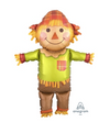 "38"" Fall Happy Scarecrow Mylar"