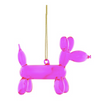 Balloon Pup Pink Ornament